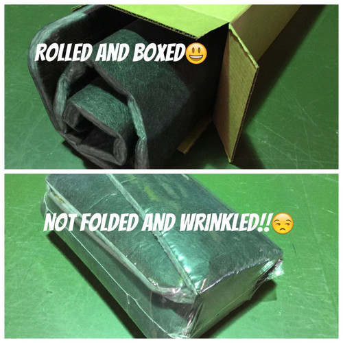 Rolled, Not Folded