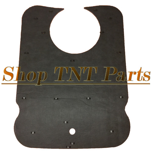 1971-74 American Motors Javelin AMX Cowl Hood Insulation Pad & Clips