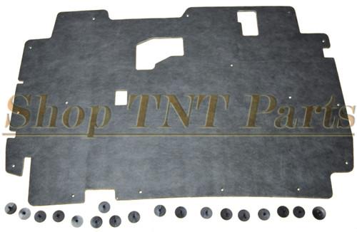 1984-2001 Jeep Cherokee Hood Insulation Pad Cherokee W/ Clips