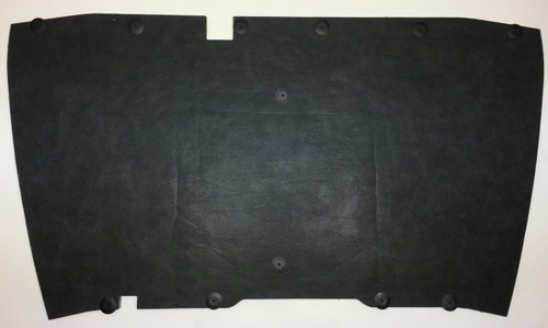 1987-1995 Jeep YJ Wrangler Hood Insulation Pad W/ Clips