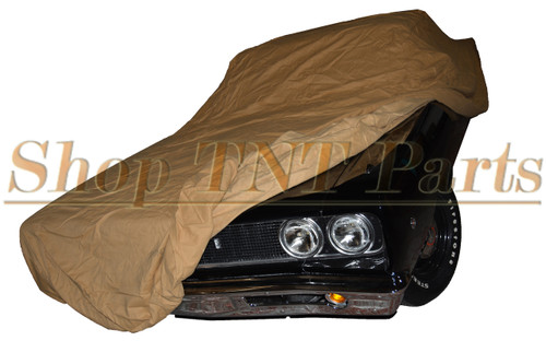 1968-1972 Pontiac GTO, LeMans, Tempest  Fitted Car Cover Felt Lined