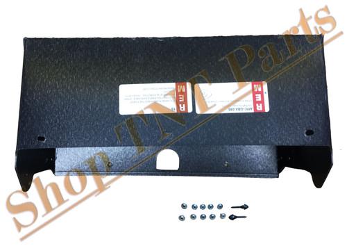 1963-64 Ambassador & Classic Glove Box Liner With Screws & Bumpers AMC