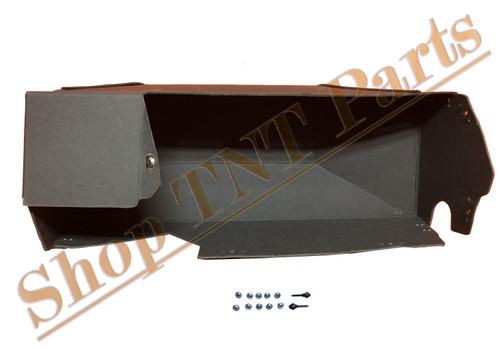 1964-1969 Rambler Glove Box Liner With Screws & Bumpers AMC