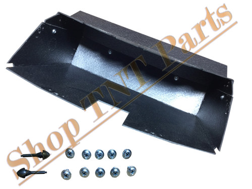 1970-1981 Chevrolet Camaro Glove Box Liner With Screws & Bumpers