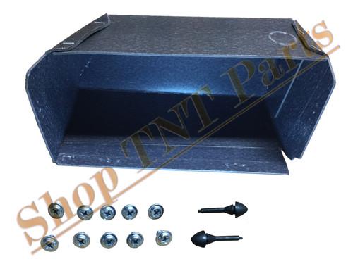 1963-1966 Dodge Dart Glove Box Liner With Screws & Bumpers