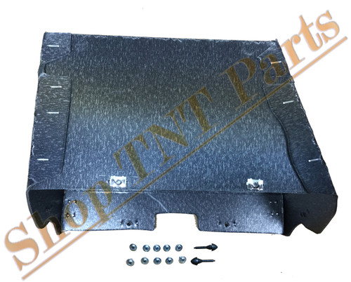 1965-1966 Dodge Monaco / Polara Glove Box Liner With Air With Screws & Bumpers