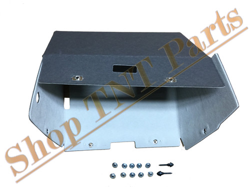 1964 1965 1966 Oldsmobile Cutlass Glove Box Liner With Screws & Bumpers