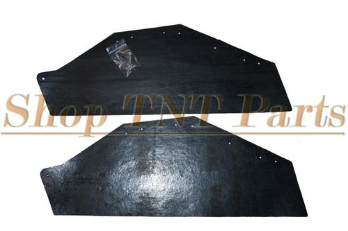 1963-1964 Bonneville Catalina Inner Fender A Arm Splash Shields Seals 2 Piece Pontiac
