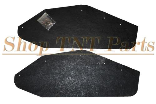 1962 Bonneville Catalina Inner Fender A Arm Splash Shields Seals 2 Piece Pontiac