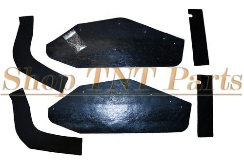1962 Bonneville Catalina Inner Fender A Arm Splash Shields Seals 6 Piece Pontiac