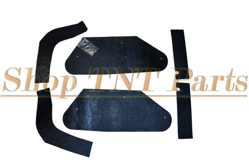 1961 Early Bonneville Catalina Inner Fender A Arm Splash Shields Seals 6 Piece Pontiac