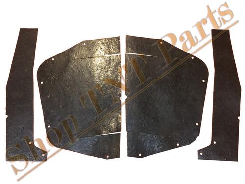 1966-1967 Cutlass Inner Fender A Arm Seal Splash Shields Seals Oldsmobile