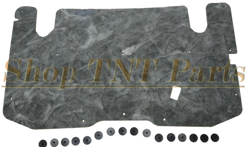 1982-1992 Ford Ranger Hood Insulation Heat Pad & Clips