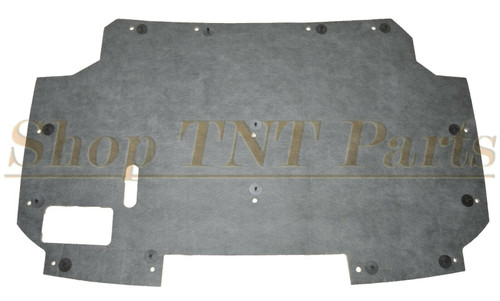 1987-1991 F150 Bronco Hood Insulation Pad & Clips F250 F350