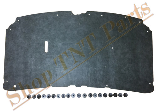 1999-2007 F250 F350 Hood Insulation Pad & Mounting Clips F450