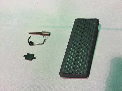 1971-1972  A B C E Body  Accelerator Pedal Kit With Spring Pin Dodge Plymouth