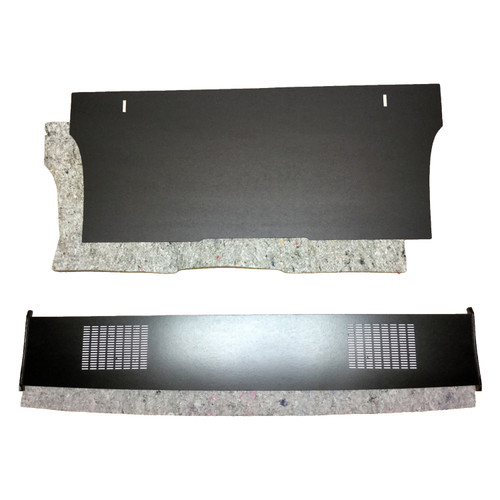 1971 - 1974 Plymouth GTX / B body Package Tray  Trunk Divider Kit with Jutes