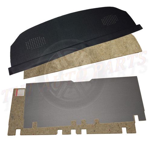 1970 - 1981 Chevrolet Camaro Package Tray And Trunk Divider With Jutes
