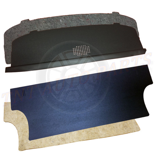 1966 - 1967 Chevrolet Nova Package Tray and Trunk Divider Kit With Jute