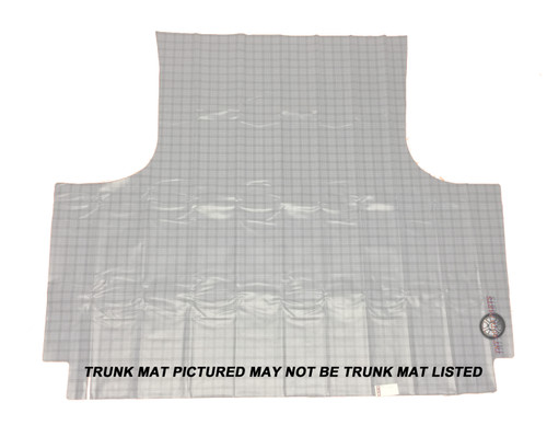 1961 - 1962 Buick Special Trunk Mat Vinyl Gray Houndstooth 6pc