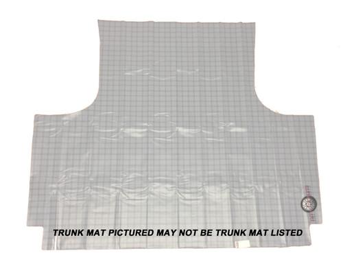 1966 - 1967 Charger Trunk Mat Rubber