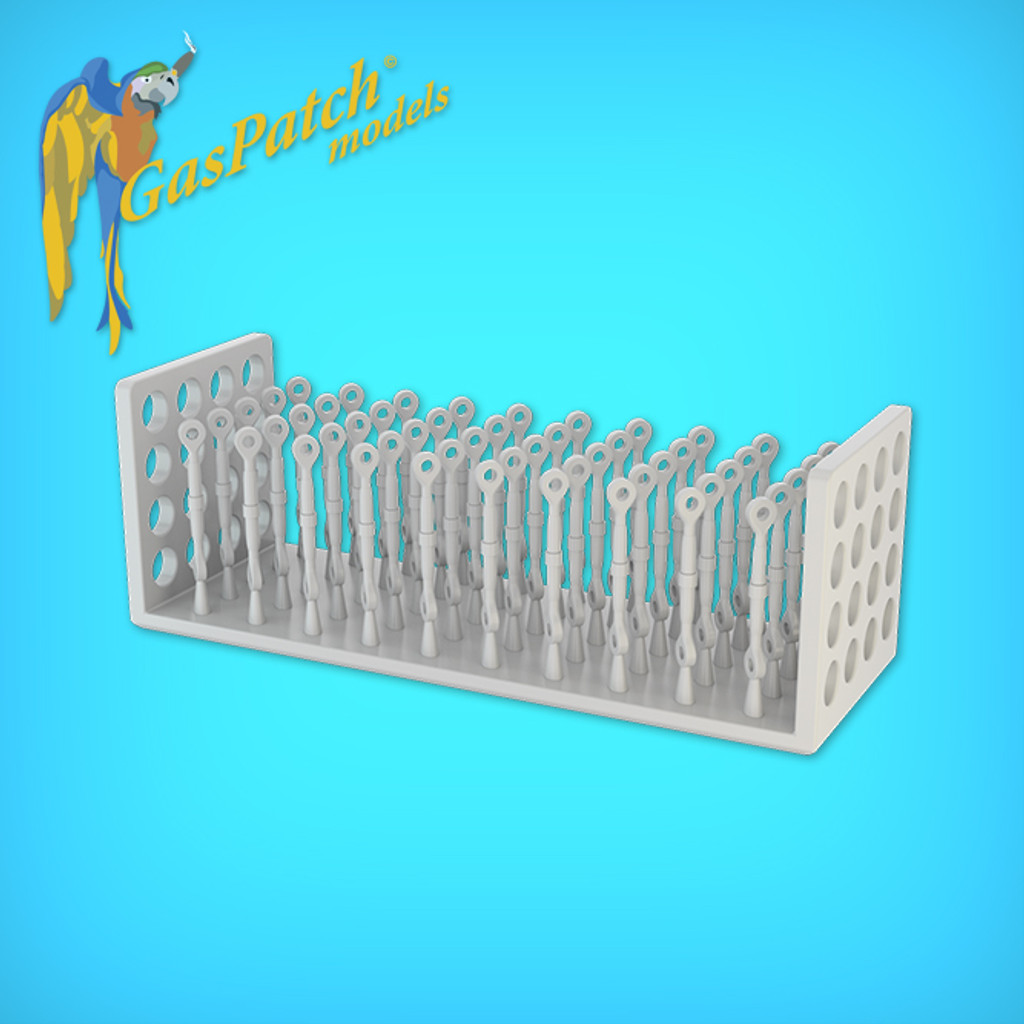 Resin Turnbuckles Type C 1/32 (18-32134)