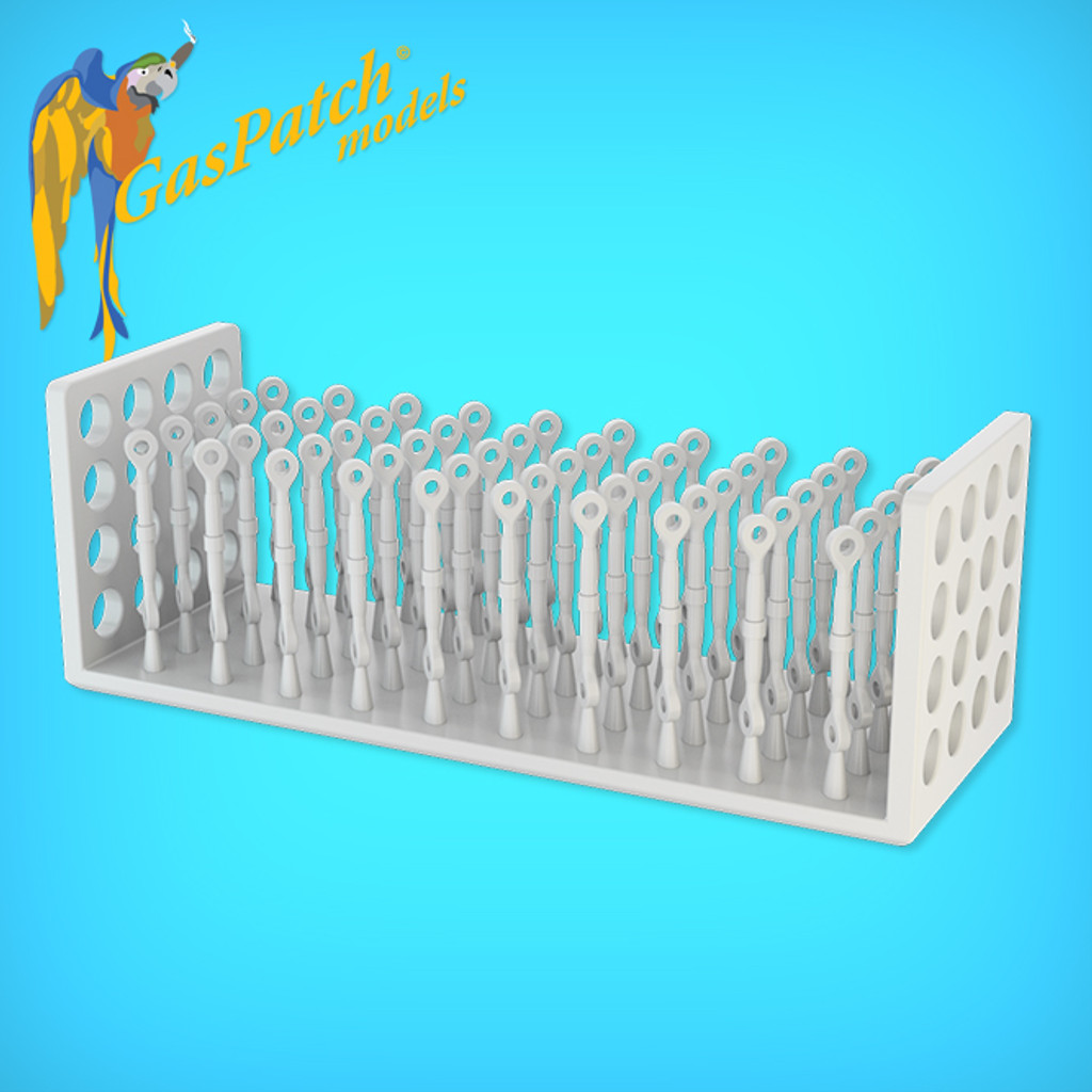 Resin Turnbuckles Type C 1/24 (50 Items)