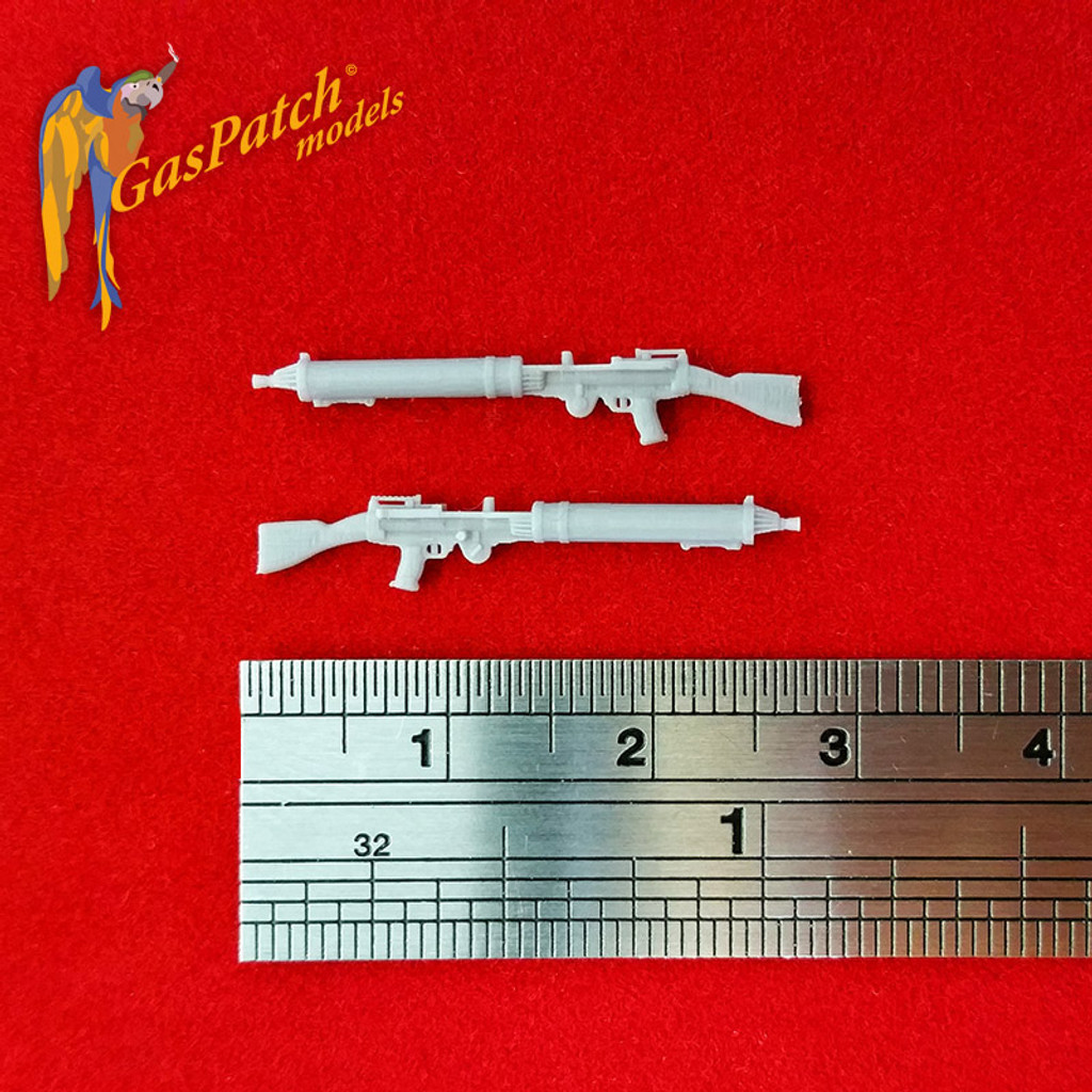 Lewis MKI Standard Type Stripped Front 1/48