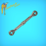Resin Turnbuckles Type C 1/16