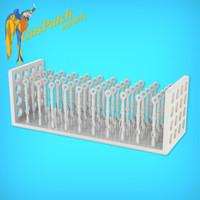 Resin Turnbuckles Type C 1/24 (50 Items)