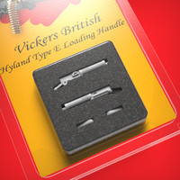 Vickers British Hyland Type E loading handle 1/48
