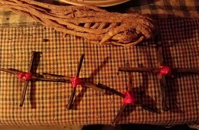 Coffin Nail Cross