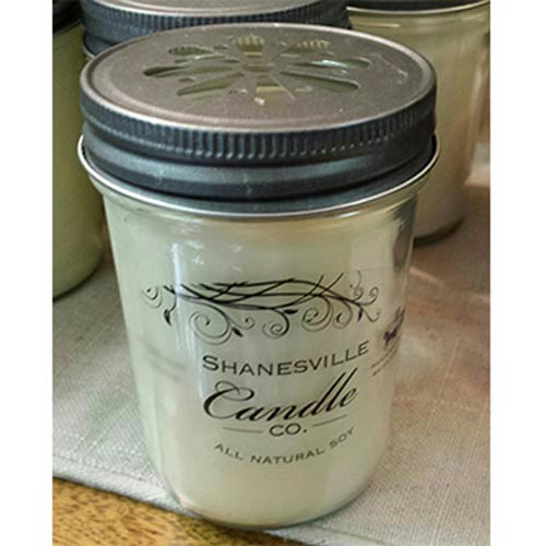 Hazelnut Coffee Candle. An all-natural triple scented soy candle hand poured by Shanesville Candle Co. in Ohio