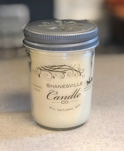 8 oz. Caramel Corn Candle
