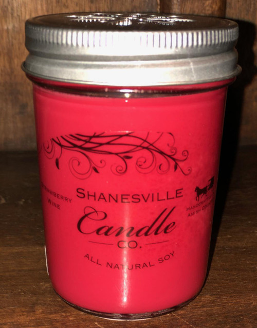 Strawberry Wine - 8 oz. Candle