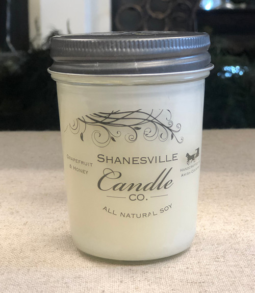 8 oz. Grapefruit & Honey Candle