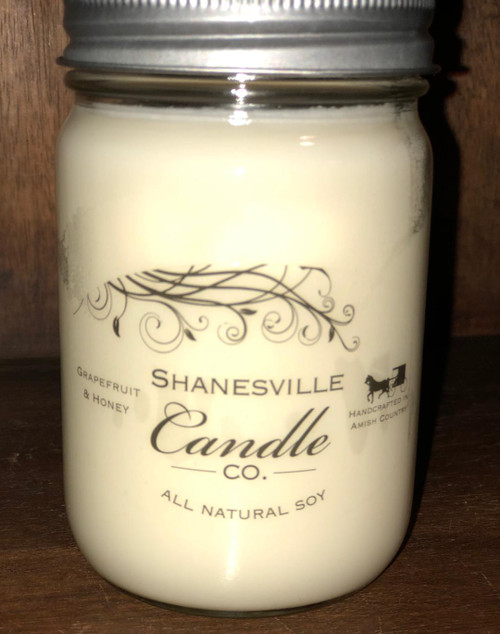 12 oz. Grapefruit & Honey Candle