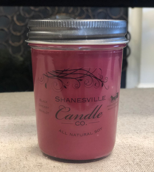 8 oz. Black Cherry Merlot Candle