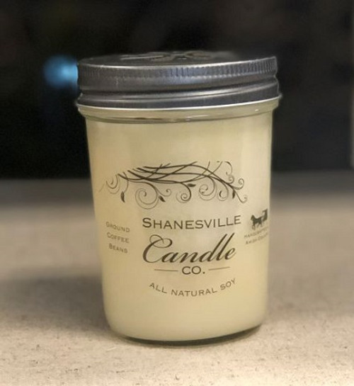 8 oz. Ground Coffee Beans Candle