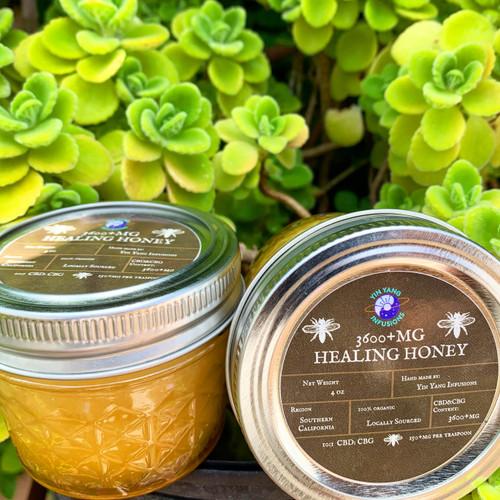 3600+mg CBD/CBG Healing Honey