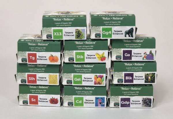 5 gram, 5 strain sample pack!