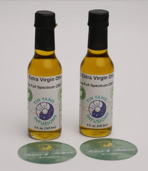1000mg CBD + CBG Extra Virgin Olive Oil