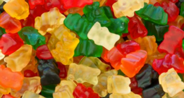 500mg CBD&CBG gummy bears