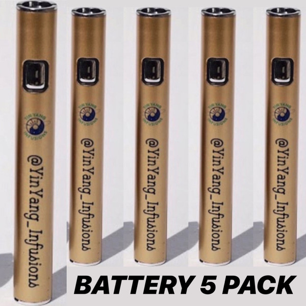 5 Pack Vape Battery/Chargers