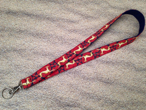 Lanyard - Valentine Hounds Fawn