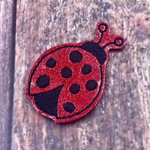 Collar Glam - LadyBug
