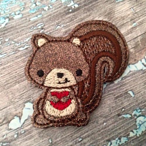 Collar Glam - Squirrel Love