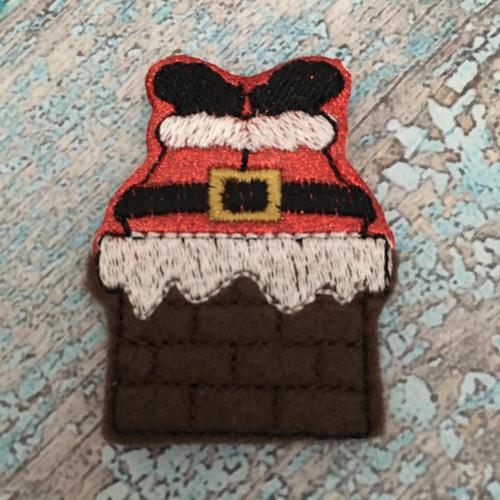 Collar Glam - Santa In Chimney