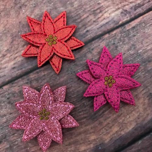 Collar Glam - Poinsettia