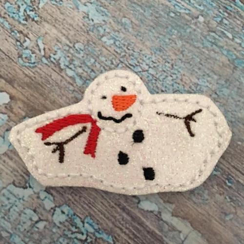 Collar Glam - Snowman Melting